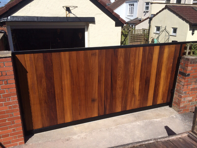 Automatic sliding gate in Redland Bristol